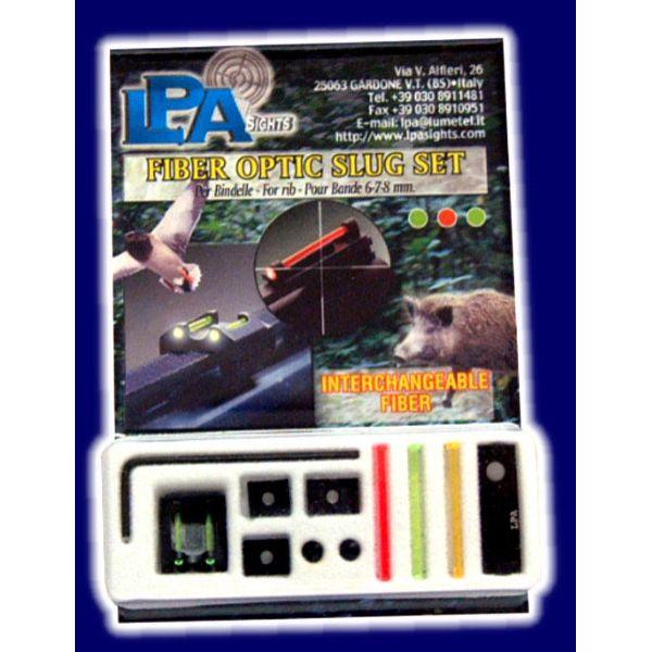 LPA fiber optic sight set slug rifle