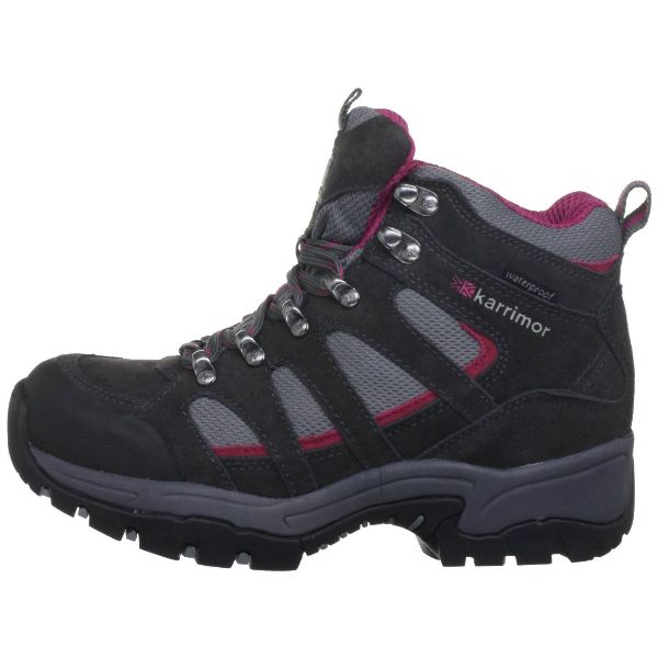 KARRIMOR Women's Bodmin Mid IV Grey/Cochineal