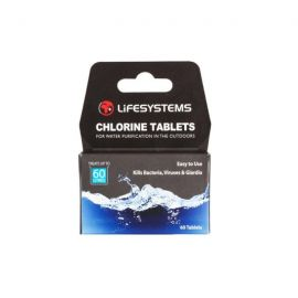 Lifesystems Chlorine Water Purification Tablets
