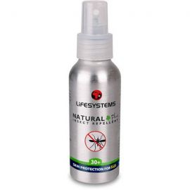LIFESYSTEMS EXPEDITION SENSITIVE DEET FREE INSECT REPELLENT SPRAY NATURAL +30