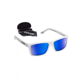 CRESSI Bahia White/Blue Mirrored Lenses