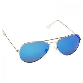 CRESSISUB Nevada Sunglasses Silver/Blue Lens