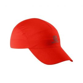 SALOMON Waterproof Cap Red