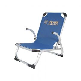 ESCAPE Beach Chair High Back Blue