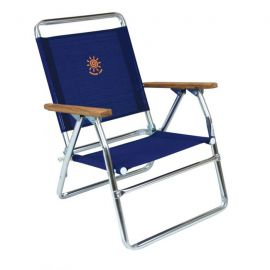 Aluminum Beach Chair High Summer Club