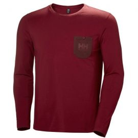 HELLY HANSEN Fjord Long Sleeve Bordeux