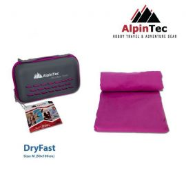 ALPINTEC Dryfast M Towel 50x100cm Purple