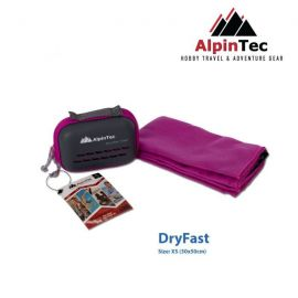 ALPINTEC Dryfast M Towel 30x50cm Purple