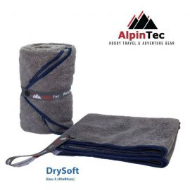 ALPINTEC Supersoft S Towel 40x80cm Blue