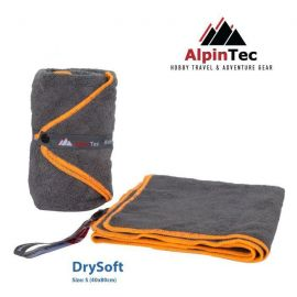 ALPINTEC Supersoft S Towel 40x80cm Orange