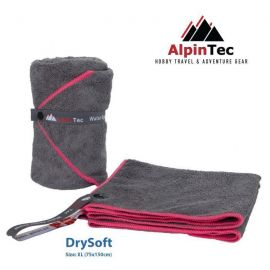 ALPINTEC Supersoft XL Towel 75x150cm Fuschia