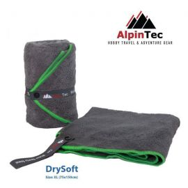 ALPINTEC Supersoft XL Towel 75x150cm Green