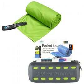 SEA TO SUMMIT Pocket Towel Small Lime