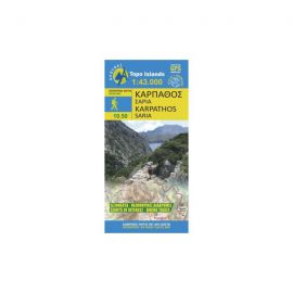Karpathos-Saria Hiking Map