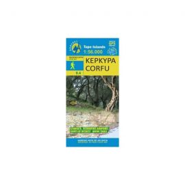 Kerkyra Hiking Map