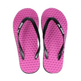 ARENA Crawl Massage Woman Flip Flops Black/Fucshia