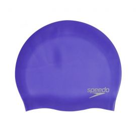 SPEEDO Plain Mouled Silicone Cap Ultra Violet