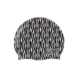 SPEEDO Slogan Print Black/White Cap
