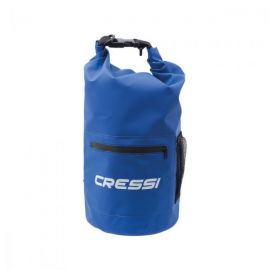 CRESSI Dry Bag Blue With Zip 10lt