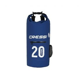 CRESSI Dry Bag Blue With Zip 20lt
