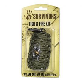 SURVIVOR Fire & Fish Emergency Kit