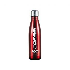 CRESSI Stainless Double Wall Bottle 500ml Red