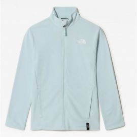 ΖΑΚΕΤΑ FLEECE TheNorthFace Youth Snow Quest Starlight Blue (Εφηβικό)