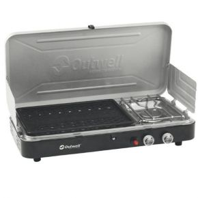 OUTWELL CHEF COOKER Chef Cooker 2-Burner Stove w/Grill