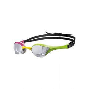 ARENA Cobra Ultra Mirror Racing Silver/Green/Pink