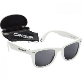 ΓΥΑΛΙΑ CRESSISUB Tortuga Sunglasses White/Light Grey Lens