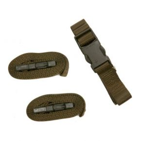 "ΙΜΑΝΤΑΣ Military Surplus Swiss Quick Release Strap Grade 2 1"" x 59"" Olive Drab"