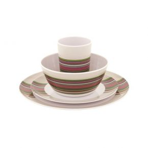 ΣΕΤ ΦΑΓΗΤΟΥ OUTWELL  Blossom Picnic Set Magnolia Red 4 Ατόμων