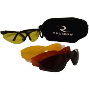 RADIANS 5 LENS KIT SAFETY GLASSES