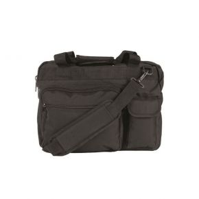 MIL-TEC BLACK BRIEF CASE FOR LAPTOP BAG