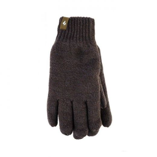 ΓΑΝΤΙΑ Heat Holders Heat Weaver Gloves Khaki