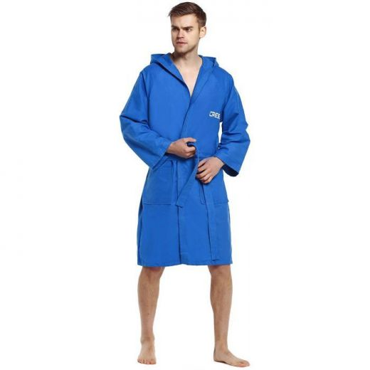 ΜΠΟΥΡΝΟΥΖΙ CRESSI Microfibre Bathrobe Blue