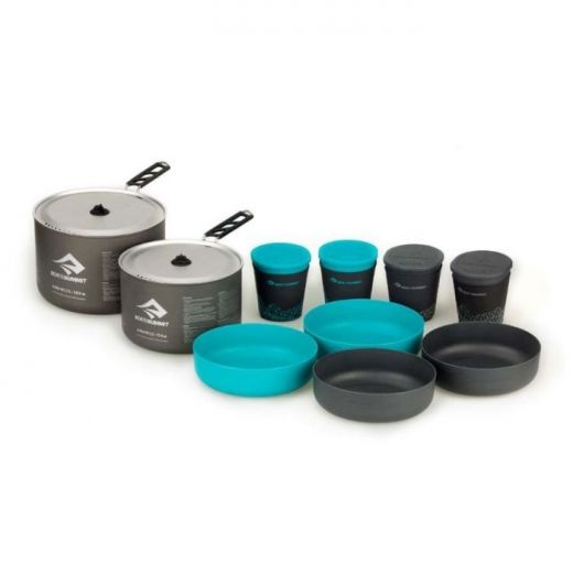 ΣΕΤ ΜΑΓΕΙΡΕΜΑΤΟΣ SEA TO SUMMIT Alpha 2 Pot Lightweight Cook Set 4.2