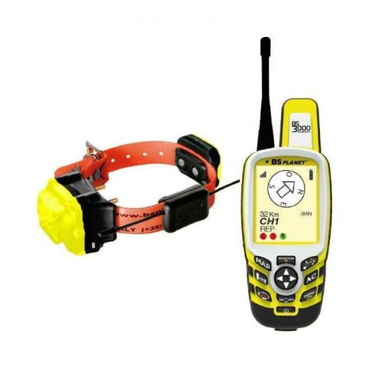 DOG COLAR TRACKING GPS BS PLANET (BS3000+BS603)