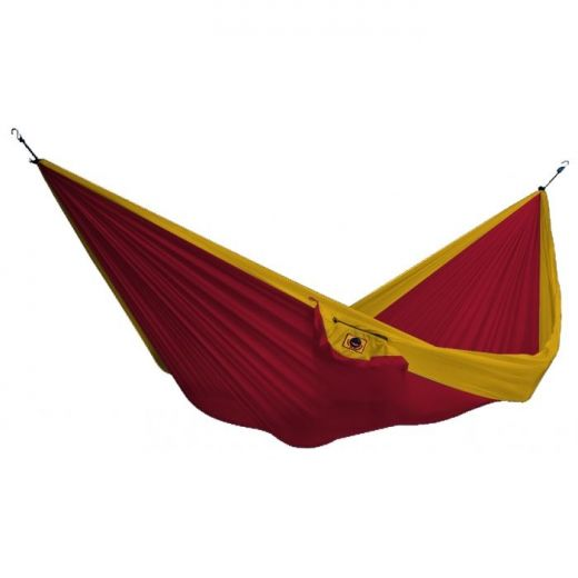 TTTM ΑΙΩΡΑ Double Hammock Burgundy/DarkYellow