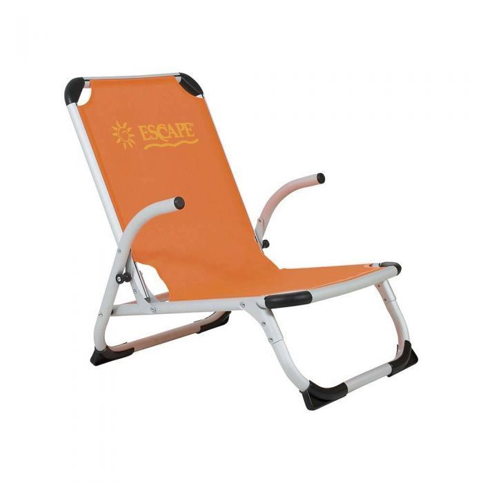 ESCAPE Beach Chair High Back Orange