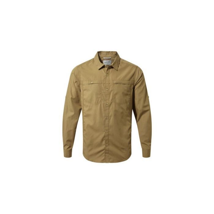 ΠΟΥΚΑΜΙΣΟ CRAGHOPPERS Kiwi Trek Long Sleeved Shirt Kangaroo