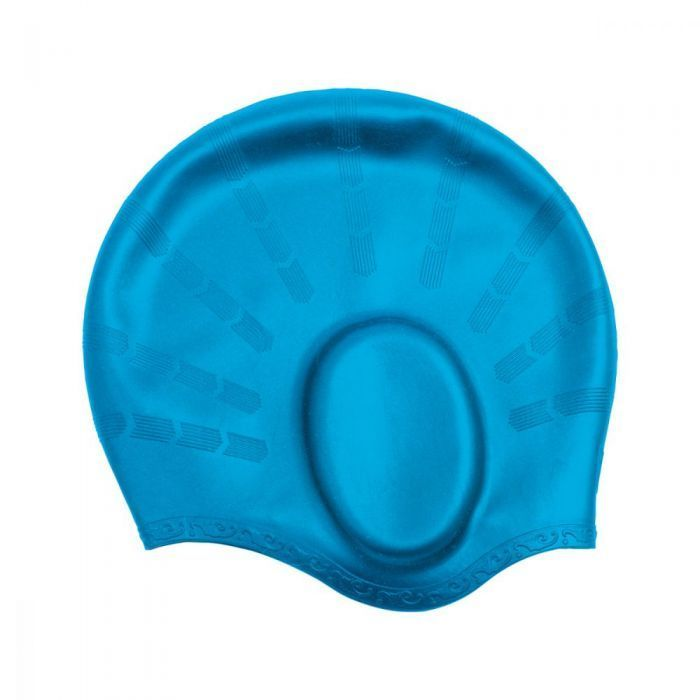 CRESSI Silicone Ear Cap Swimming Light Blue