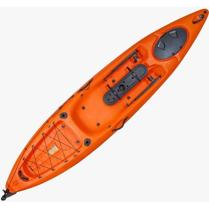 ESCAPE KAYAK Dace Pro Angler 12ft Orange 1 Person - Hobbi gr