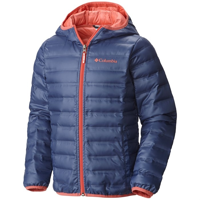 COLUMBIA Flash Forward Hooded Down Blue