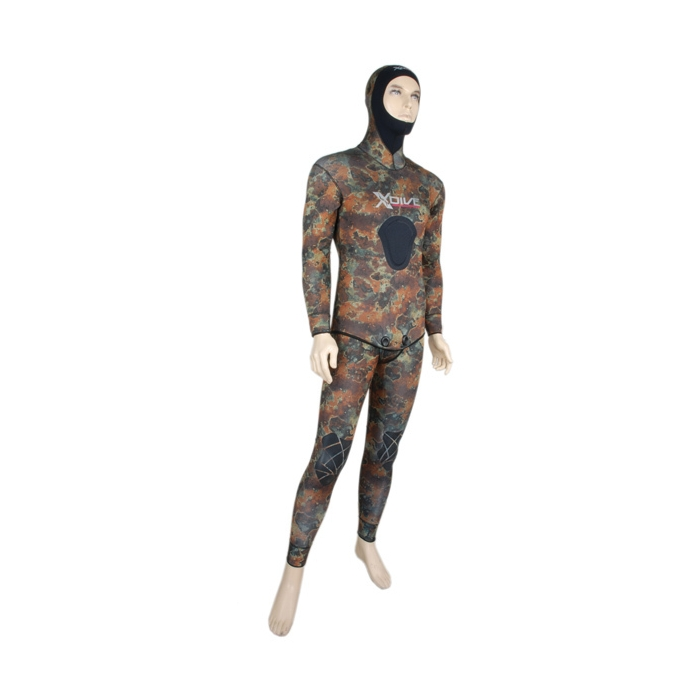 Wetsuit Inverno Camo 7mm Open Cell