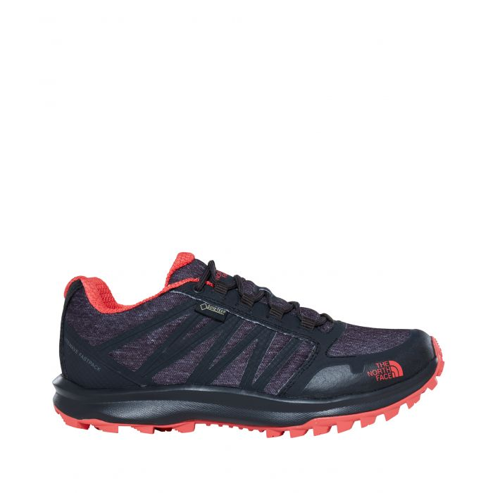 ΠΑΠΟΥΤΣΙΑ TheNorthFace Litewave Fastpack Gtx Phantom Grey Heather Print/Cayenne Red