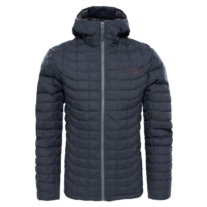 562e7422df6 TheNorthFace Thermoball Hoodie Jacket Βlack   Fusebox Grey - Hobbi ...