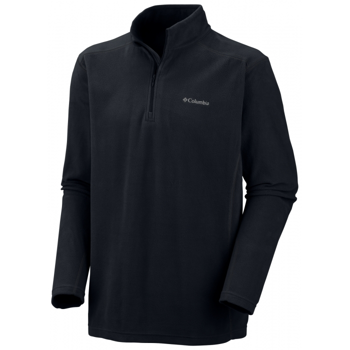 ΜΠΛΟΥΖΑ FLEECE COLUMBIA Klamath Range II Half Zip Black