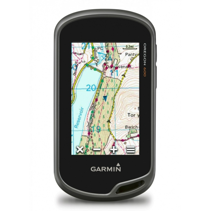 GPS GARMIN Oregon 600 με χάρτη Topo Drive Hellas