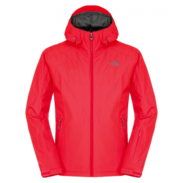 TheNorthFace Descendit Insulated Fiery Red Jacket